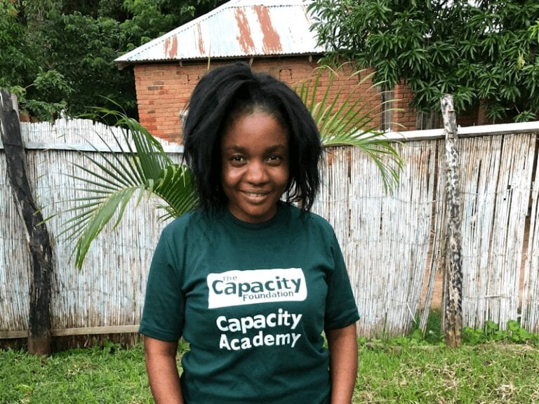 Emily Nkhoma, the Capacity Foundation's operations manager