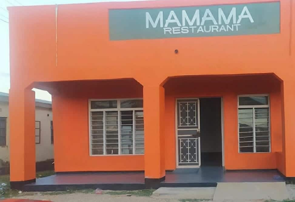 Mamama restaurant - a new social enterprise in Malenga Mzoma